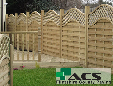 image of fencing and decking for service page